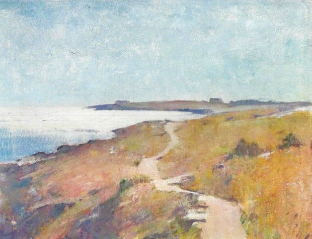 Road to the Sea Emil Carlsen