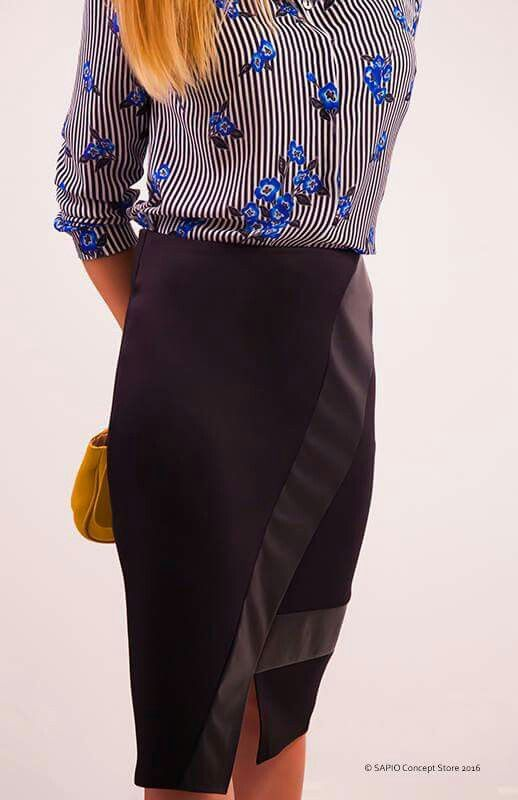 #blackskirt #elegance www.sapiostore.ro