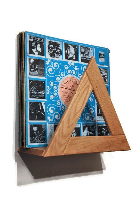Vinyl record stand , Record holder , Record storage