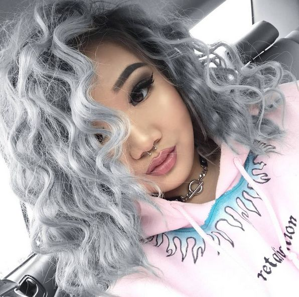 What Colour Should You Dye Your Hair? ~You got: You should dye your hair grey! This monochrome look suits your classic, chic personality perfectly. Paired with any outfit, you will look instantly glam.