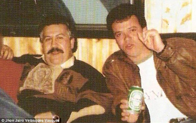 Personal hitman: 'Popeye' Vasquez (right) killed more than 300 people and…