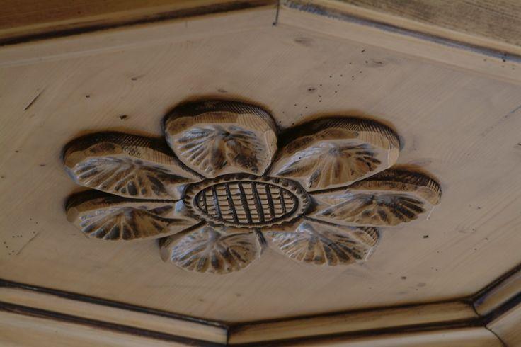Dettaglio del soffitto