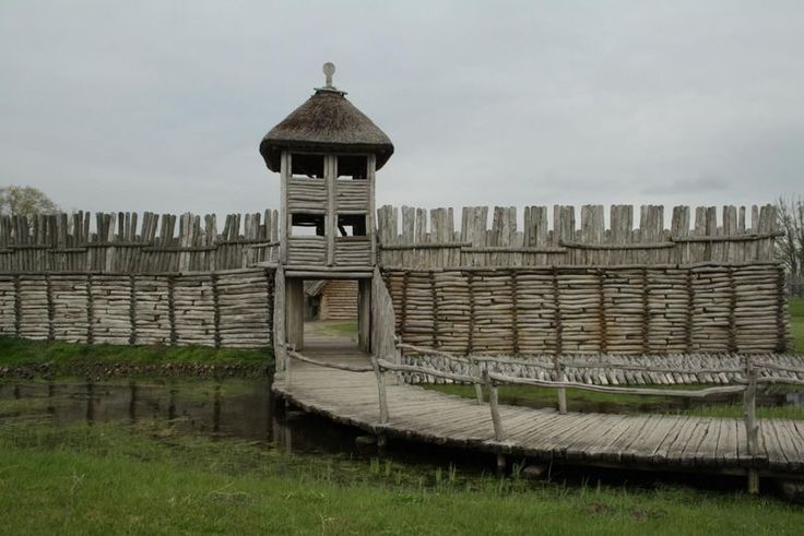 Viking fortress. ( Biskupin, Poland )