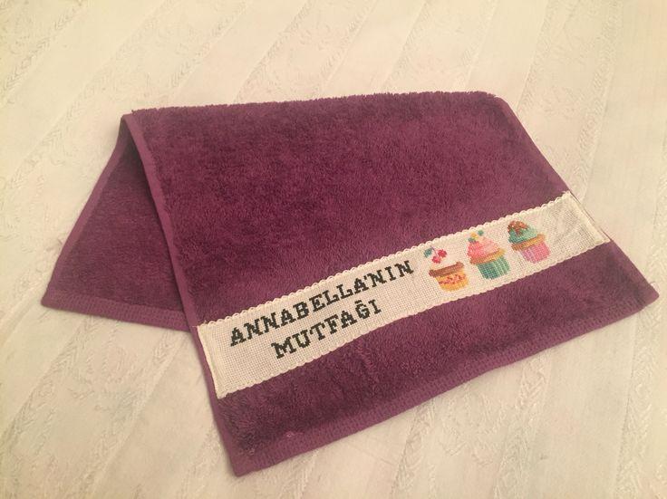 #crossstitch#towel#kaneviçe#havlu