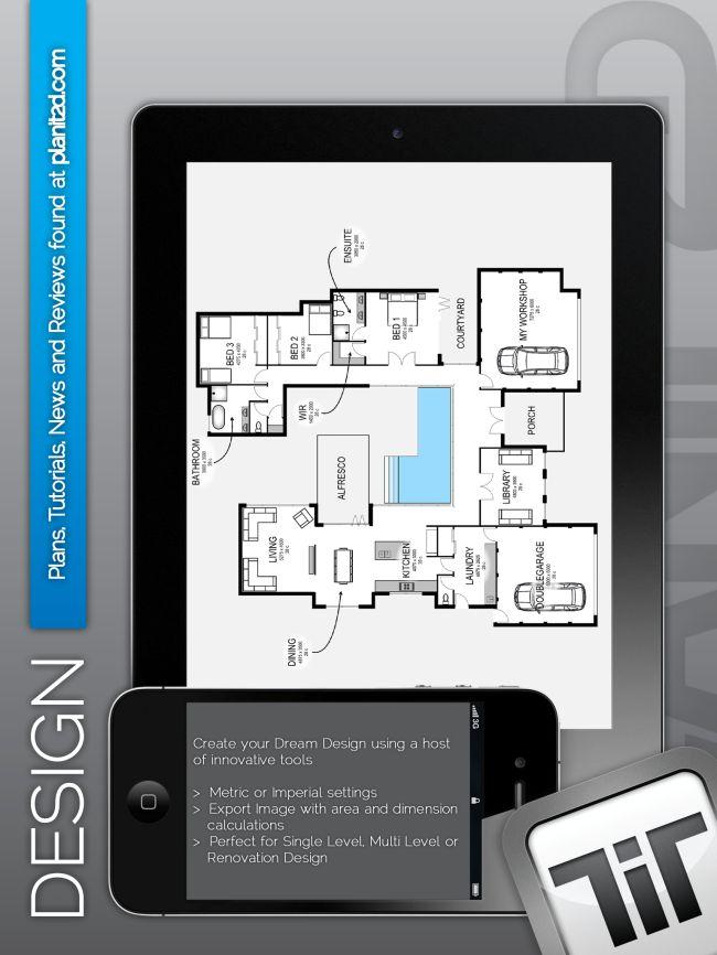 Best 25 3d home design ideas on pinterest house design for Design your own floor plan app