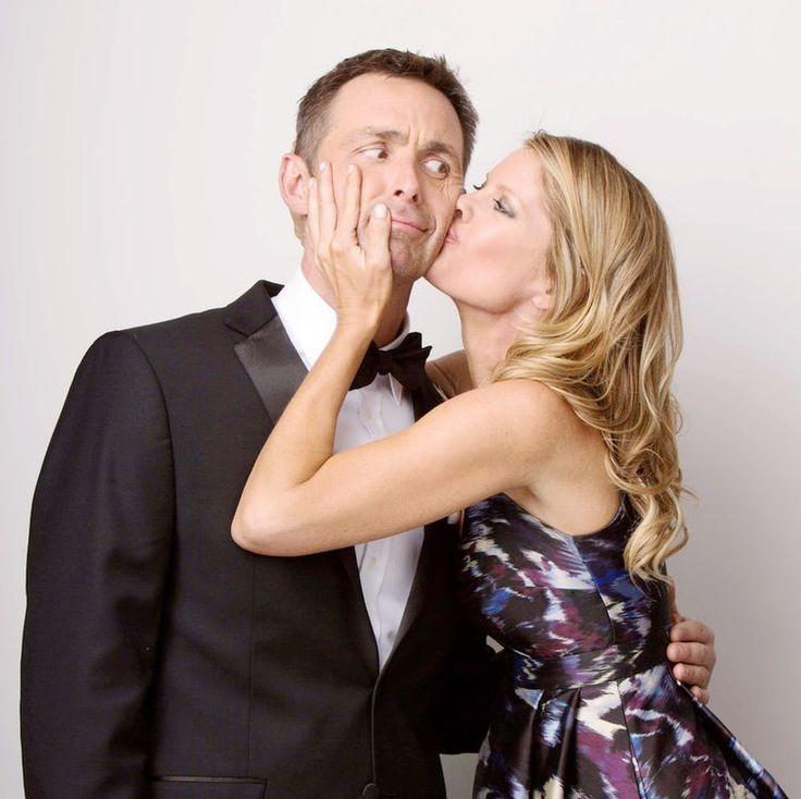 James Patrick Stuart & Michelle Stafford Kiss - JPI