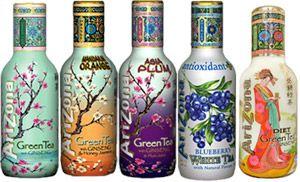 ARIZONA Iced Teas! So amazing Bottles besides the super flavors!!!!