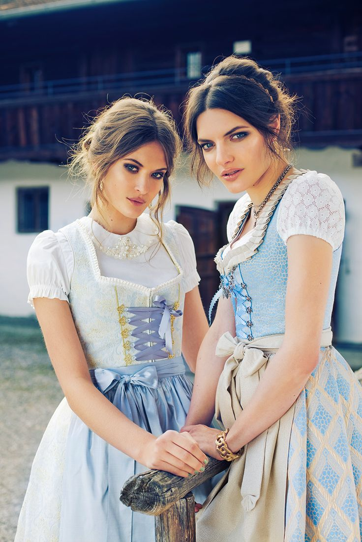 Oh so lovely. The blouse the blouse the blouse. And sweet innocent Dirndl. by silk & pearls.