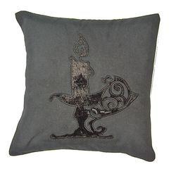 Illuminati Candle Cushion