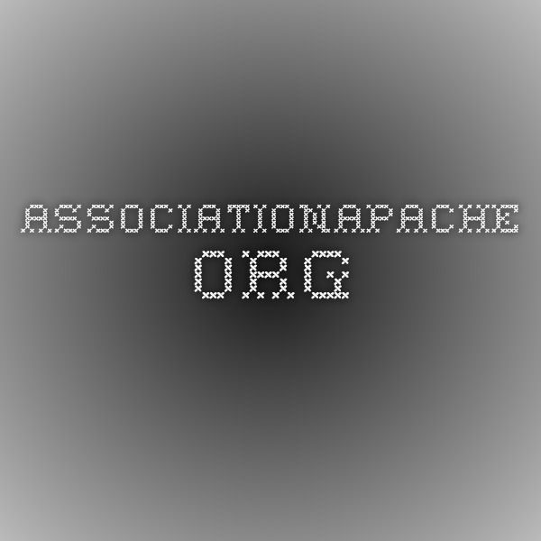 associationapache.org