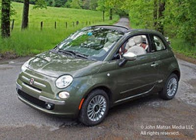 5ooblog | FIAT 5oo: New Fiat 500 C Cabrio USA First Drive (V)