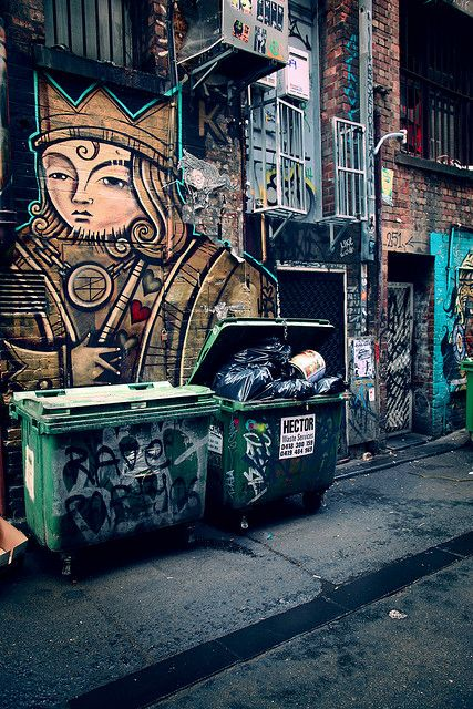 Caledonian Lane, Victoria Melbourne, Australia   By Hellblazer!, via Flickr  April 2009
