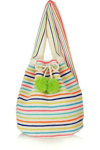 Sophie Anderson | Lilla crocheted cotton shoulder bag | NET-A-PORTER.COM
