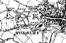 Modbury parish records and historial documents