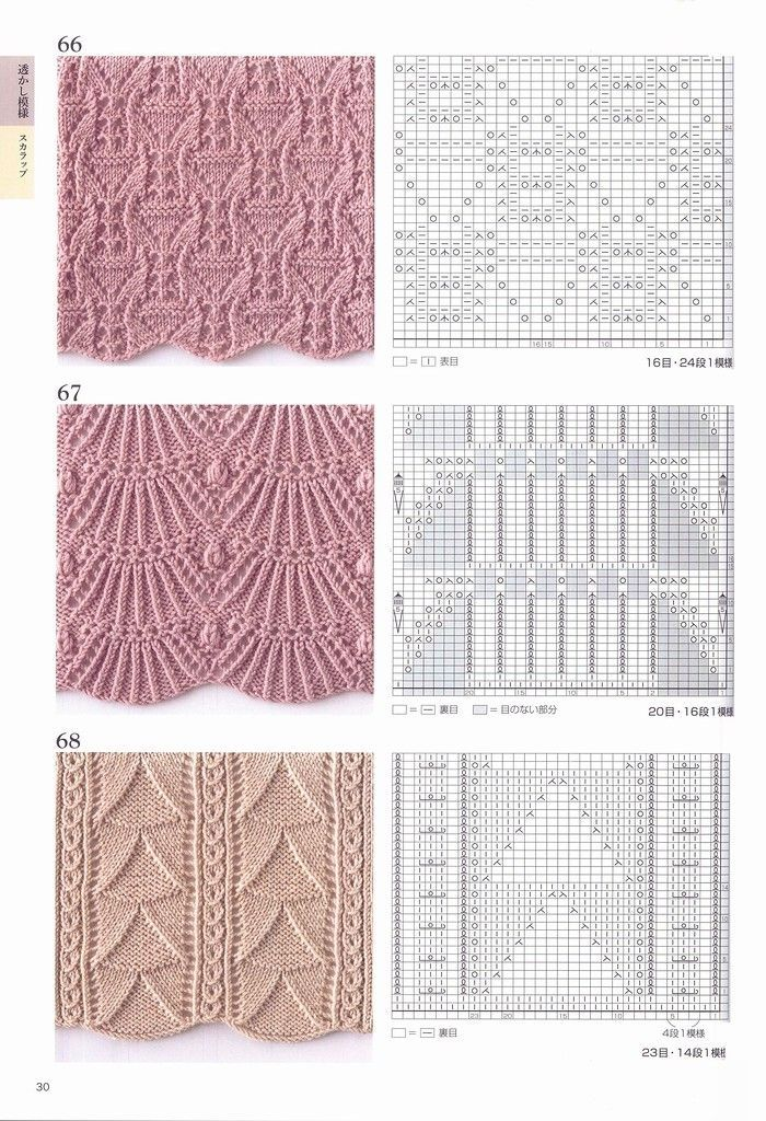 Cable knit pattern Knitting Pattern Book 260 by Hitomi Shida ...