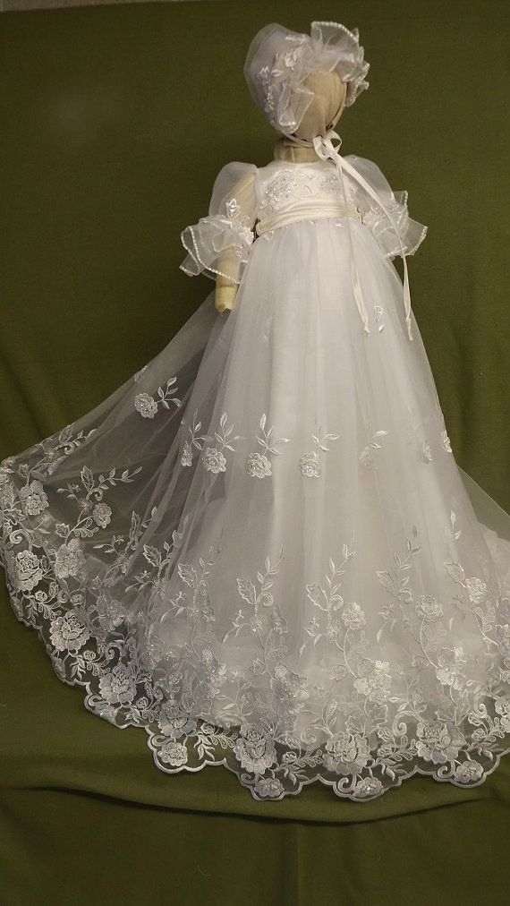 how to make a christening gown