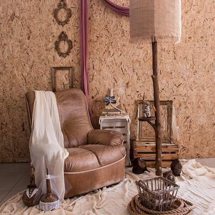 Autumn composition of a living room with brown colors and warm wooden details. Made by thecreativehut.gr