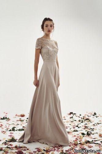 Свадебное платье из шелка (#19 617), цена 49400 руб.   «Дом Весты»
