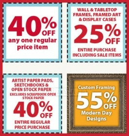 Save on arts crafts with michaels 39 weekly coupons for Save on crafts promo code