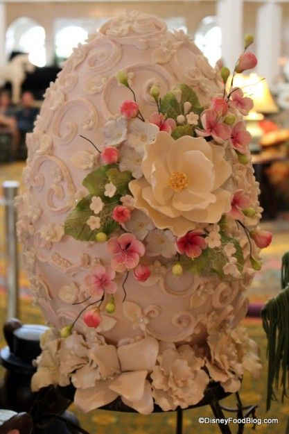 So Pretty!! Decorative Easter Egg - Grand Floridian Disney World