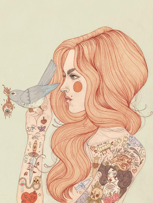 Eye For An eye - Liz Clements Illustration