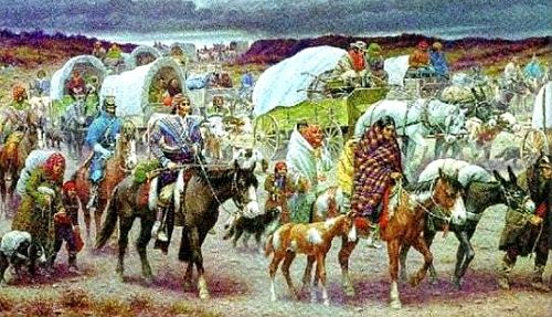 Signed into law by President Andrew Jackson on May 28, 1830, the Indian Removal Act of 1830 act authorized the president to grant unsettled lands west of the Mississippi River in exchange for Indian lands within existing state borders.