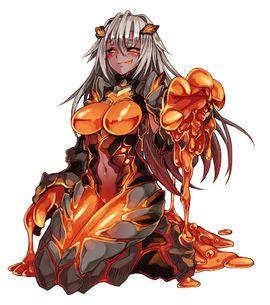 Lava Golem - Monster Girl Encyclopedia Wiki