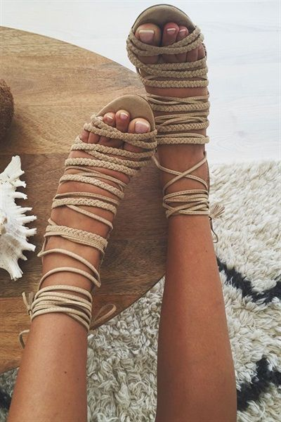 Buy Aria Heels - Nude Online - Shoes - Women's Clothing & Fashion - SABO SKIRT