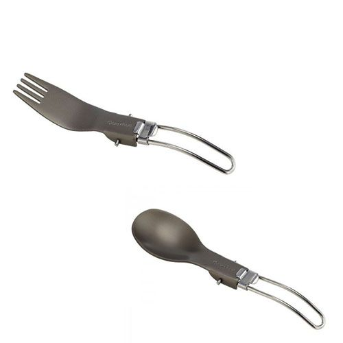 Quechua Foldable Spoon & Fork are compact and lightweight for eating outdoors. Buy - http://bit.ly/2bukAGy