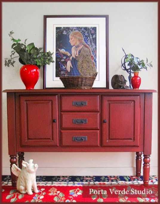 Arts crafts buffet by porta verde studio featured on for Sideboard porta