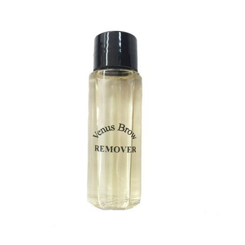 VenusBrow Oil Free Eye Makeup Remover. Oil Free Eye Makeup Remover. Includes Aloe Vera and Chamomile. Created for brow ink removal. Made to use on the delicate eye area. Safely removes oil traces of makeup leaving no oily residue.