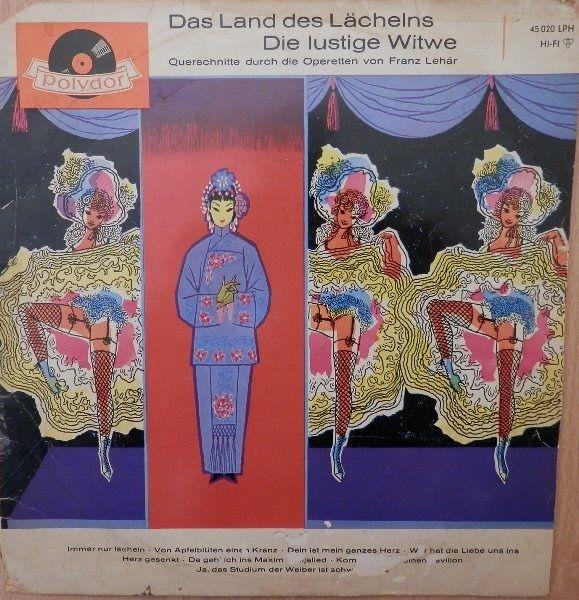Franz Lehár - Das Land Des Lächelns / Die Lustige Witwe (Querschnitte Durch Die Operetten Von Franz Lehár) (Vinyl, LP) at Discogs