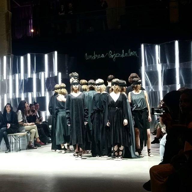Andrea Pojezdálová #collection #noir #fashionlive2016