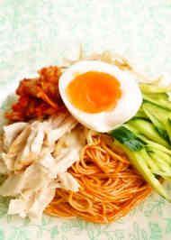 ☺アレンジそうめん☆ビビン麺風そうめん☺