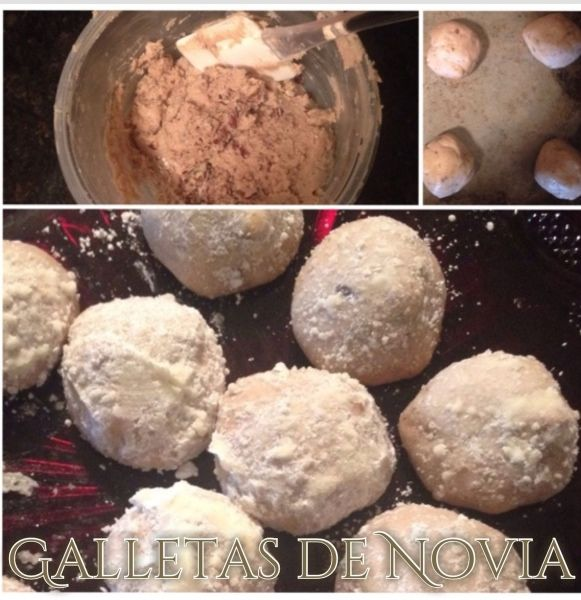 Galletas de Novia (Mexican Wedding Cookies, Bride Cookies)