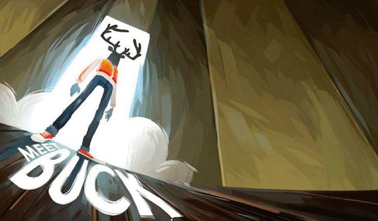 """Meet Buck Buck é um cara comum. Bem, se você aceitar o negócio da """"cabeça de veado"""". Nessa animação fantástica, conhecer o sogro pode ser pior do que se imagina! http://ilustracaodeideias.com.br/animacao/meet-buck/ #Animacao #AnimationX #BuckX #DenisBouyer #IlustracaodeIdeias #JulienBegault #LaurentMonneron #MarkosMugen #MeetBuck #VincentESousa #YannDePreval #YannisDumoutiers"""