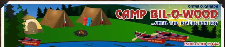 Camp Bil-O-Wood in Blind River #algomacountry