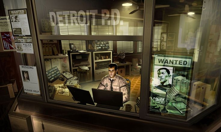 Detroit Police Department from Deus Ex: Human Revolution