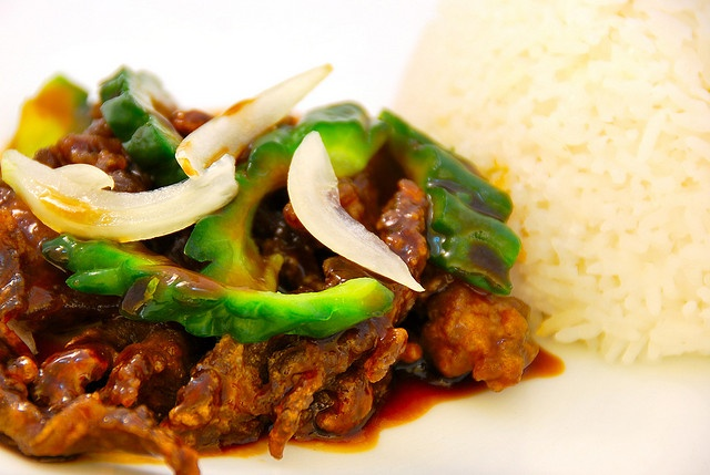 how to cook ampalaya with ground pork