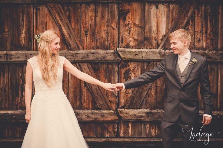 Amy & Adam | Beautiful Barn Wedding at Creaksea Barns | Essex | Bride & Groom Portraits