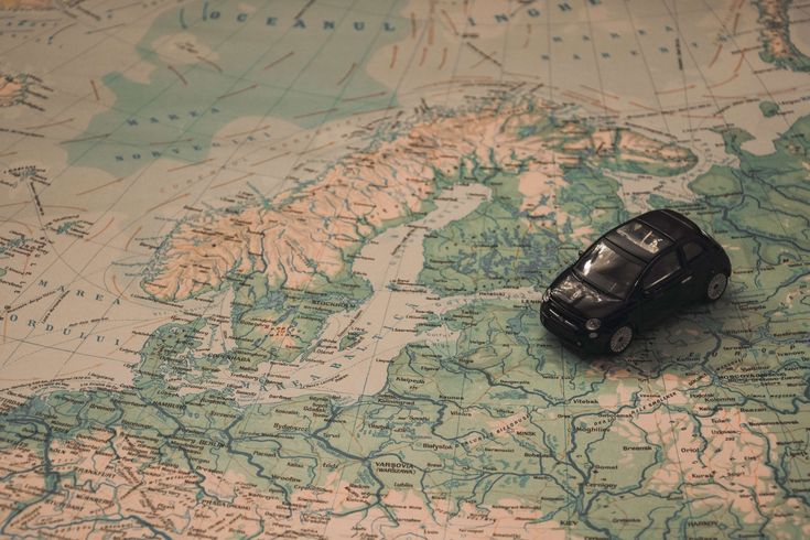 #adventure #baltic sea #car #denmark #europe #fiat #finland #holidays #map #miniature #navigation #north sea #norway #route #scandinavia #sweden #toy #travel