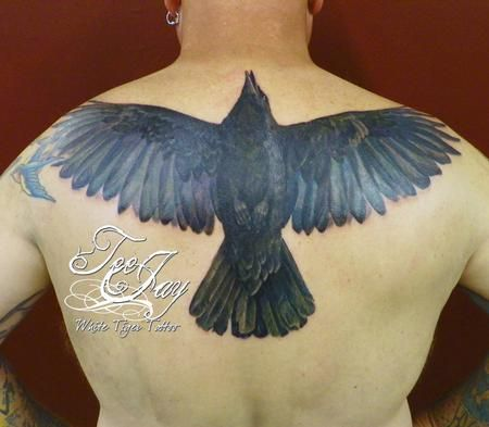 crow tattoos    Off the Map Tattoo : Tattoos : Tee Jay : Color Crow