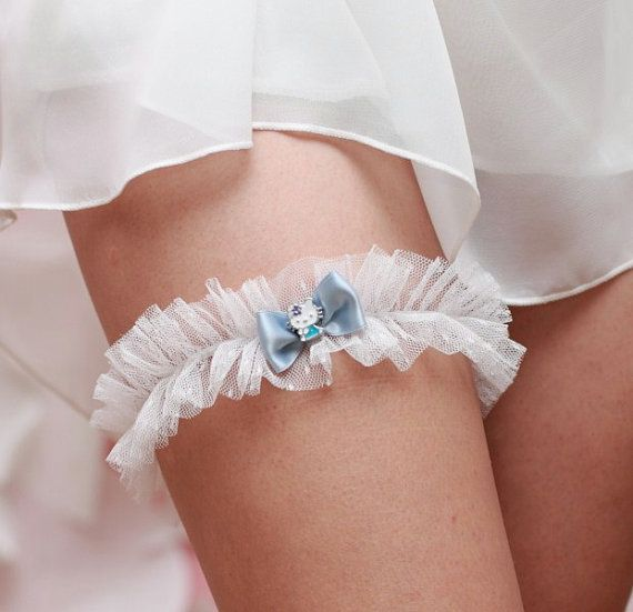Hello Kitty garter, this will be worn on my wedding day! :)