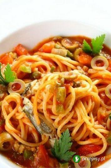 Spaghetti po sycylijsku #spaghetti #dinner #pasta