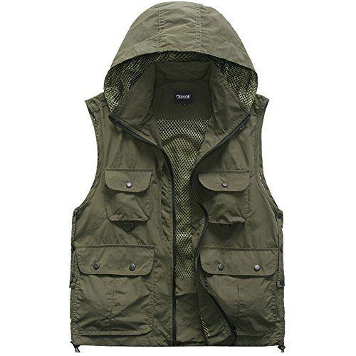 Zicac Men's Multi Pocket Mesh Photography Fishing Vest with Detachable Back (Green, Asian Size XL(UK/L)) Zicac https://www.amazon.co.uk/dp/B00ZEYHPVY/ref=cm_sw_r_pi_dp_3ZPfxbWRZGX48