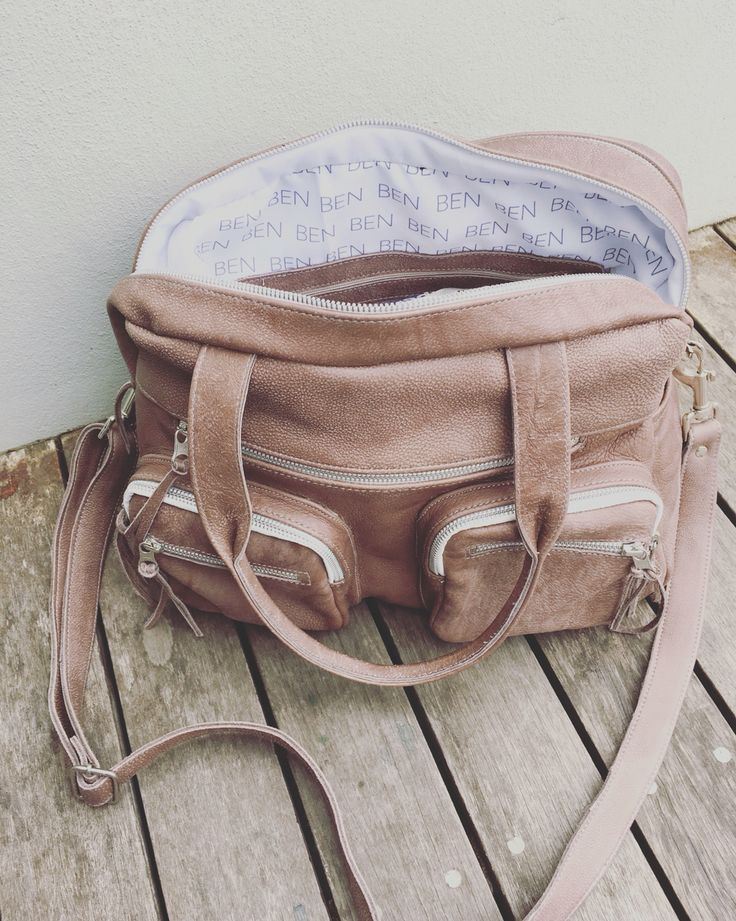 Genuine Leather Diaper/Nappy Bag