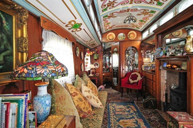 Romany Rose - showman wagon *more pics*