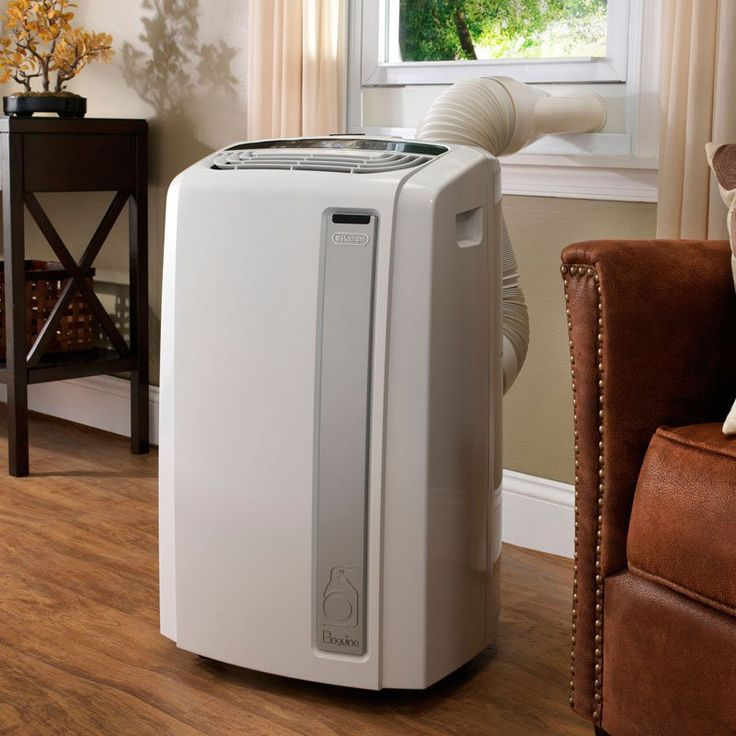 Pinguino 14000 BTU Whisper Quiet Portable Air Conditioner with Heat Pump and BioSilver Air Filter - PAC-AN140HPEWC