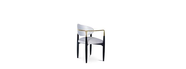 NAHÉMA Chair | Luxury chair by Koket