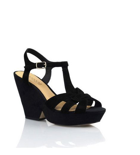 Bonbons - Abode Suede Wedge    The flattering shape of this cut out wedge will update any tired LBD. Crafted from supple suedes to ensure a comfortable wear, Abode is a truly versatile style that's perfect for AM to PM wear.  Heel: 9.5cm    Price: $99.95    BUY NOW